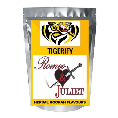 TIGERIFY Hookah Sheesha Herbal ROMEO & JULIET Flavour 50grams 1