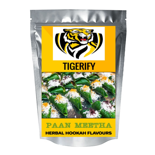 TIGERIFY Hookah Sheesha Herbal PAAN MEETHA Flavour 50grams 1