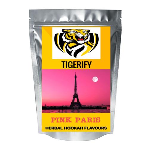 TIGERIFY Hookah Sheesha Herbal PINK PARIS Flavour 50grams 1