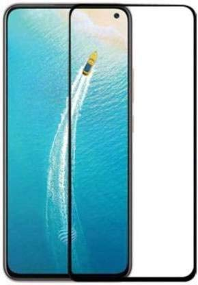 Tigerify Tempered Glass/Screen Protector for Vivo V17 (Black Color) Edge To Edge Full Screen Coverage and Full Glue 1