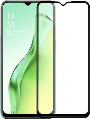 Tigerify Tempered Glass/Screen Protector for Oppo A31 (Black Color) Edge To Edge Full Screen Coverage and Full Glue 1