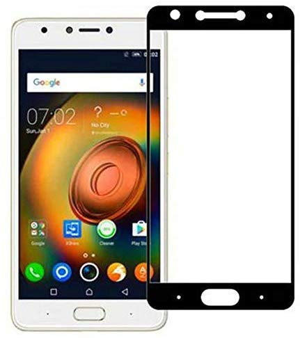 Tigerify Tempered Glass/Screen Protector Guard for Infinix Note 4 (Black Colour) Edge To Edge Full Screen 1