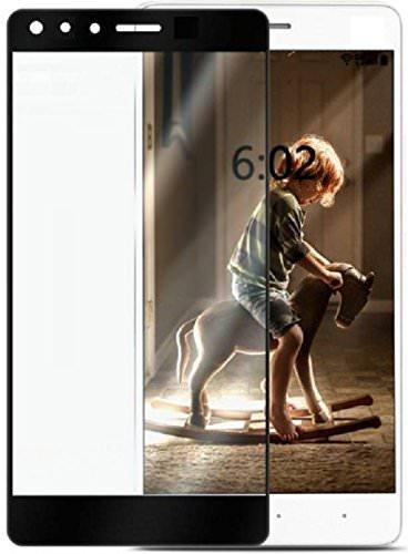 Tigerify Tempered Glass/Screen Protector Guard for Infinix Zero 5 (Black Colour) Edge To Edge Full Screen 11D 1