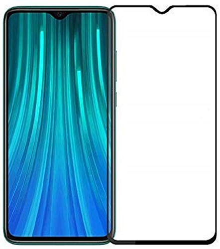 Tigerify Tempered Glass/Screen Protector for Redmi 9A (Black Color) Edge To Edge Full Screen Coverage and Full Glue 1