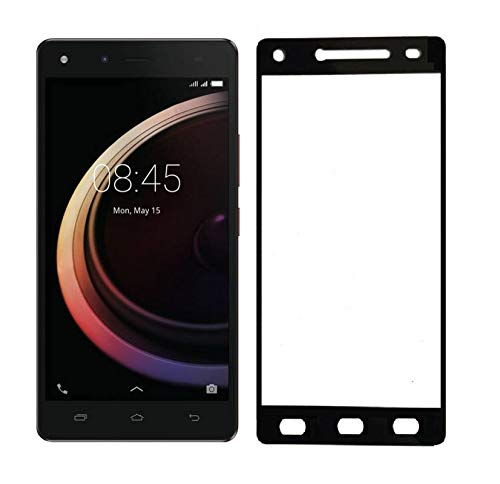 Tigerify Tempered Glass/Screen Protector Guard for Infinix Hot 4 Pro (Black Color) Edge To Edge Full Screen 1