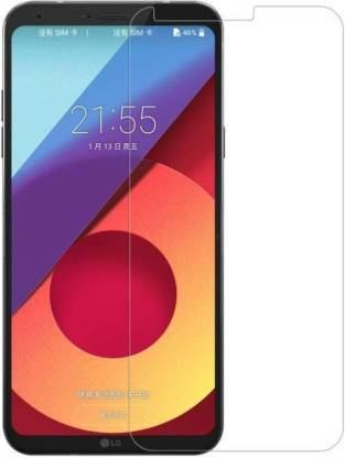 Tigerify Tempered Glass/Screen Protector Guard for LG Q6 / Q6 PLUS (TRANSPARENT COLOR) Edge To Edge Full Screen 1