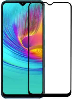 Tigerify Tempered Glass/Screen Protector Guard for Infinix Smart 4 Plus, Infinix Smart 4 (Black Color) Edge To Edge Full Screen 1