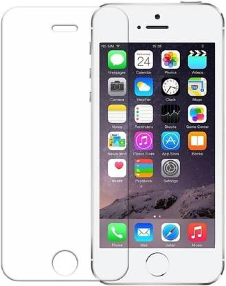 Tigerify Tempered Glass/Screen Protector Guard for iPhone 5 / 5S / SE (TRANSPARENT COLOR) Edge To Edge Full Screen 1