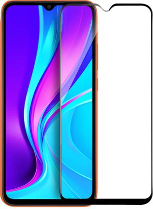 Tigerify Tempered Glass/Screen Protector Guard for Motorola Moto G10 Power, Motorola Moto G30 (BLACK COLOR) Edge To Edge Full Screen 1