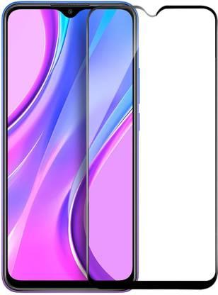 Tigerify Tempered Glass/Screen Protector Guard for Realme Narzo 20, Realme Narzo 20A, Poco M3, Realme Narzo 30A (BLACK COLOR) Edge To Edge Full Screen 1