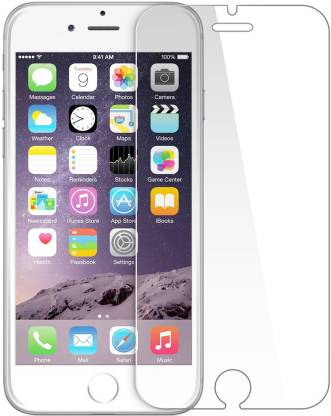Tigerify Tempered Glass/Screen Protector Guard for iPhone 4/ 4S (TRANSPARENT COLOR) Edge To Edge Full Screen 1