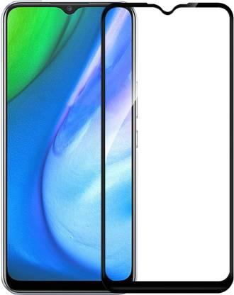 Tigerify Tempered Glass/Screen Protector Guard for Poco M2, Mi Redmi 9 Prime (BLACK COLOR) Edge To Edge Full Screen 1