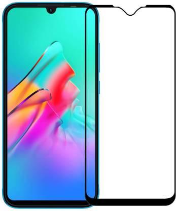 Tigerify Tempered Glass/Screen Protector Guard for Infinix Smart HD 2021 (BLACK COLOR) Edge To Edge Full Screen 1