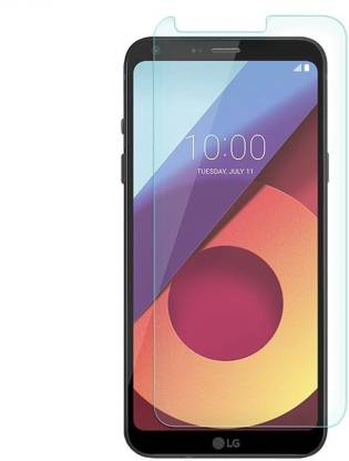 Tigerify Tempered Glass/Screen Protector Guard for LG Q6 / LG Q6 PLUS (TRANSPARENT COLOR) Edge To Edge Full Screen 1