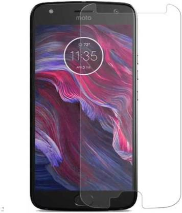 Tigerify Tempered Glass/Screen Protector Guard for Motorola Moto X4 (TRANSPARENT COLOR) Edge To Edge Full Screen 1