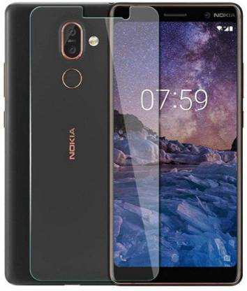 Tigerify Tempered Glass/Screen Protector Guard for Nokia 7 Plus (TRANSPARENT COLOR) Edge To Edge Full Screen 1