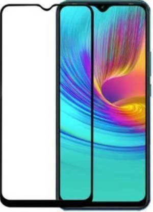 Tigerify Tempered Glass/Screen Protector Guard for Infinix Smart 4 Plus, Infinix Smart 4 (Black Colour) Edge To Edge Full Screen 1