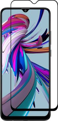 Tigerify Tempered Glass/Screen Protector Guard for Samsung Galaxy M02/M02S (BLACK COLOR) Edge To Edge Full Screen 1
