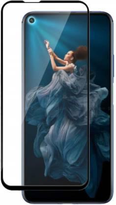Tigerify Tempered Glass/Screen Protector Guard for Honor 20 Pro (BLACK COLOUR) Edge To Edge Full Screen 1