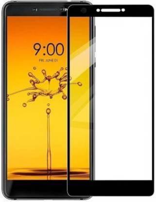 Tigerify Tempered Glass/Screen Protector Guard for Nokia C3 (Black Colour) Edge To Edge Full Screen 11D 1