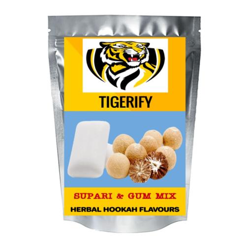 TIGERIFY Premium Quality Shisha Hookah Herbal SUPARI & GUM MIX Flavour 50grams 1