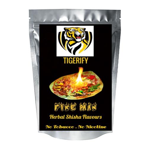 TIGERIFY Premium Quality Shisha Hookah Herbal FIRE PAAN Flavour 50grams 1