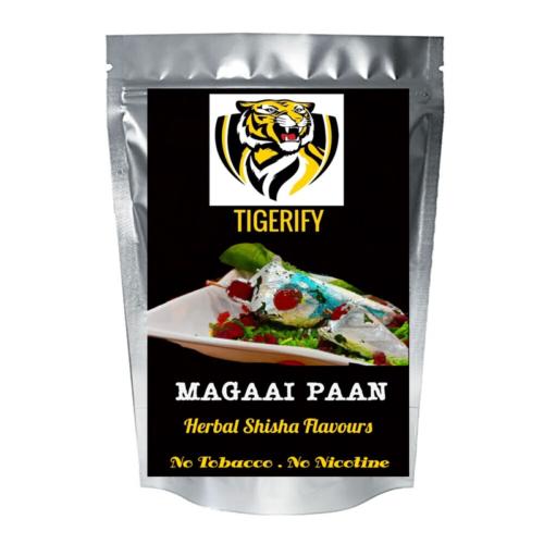 TIGERIFY Premium Quality Shisha Hookah Herbal MAGAAI PAAN Flavour 50grams 1