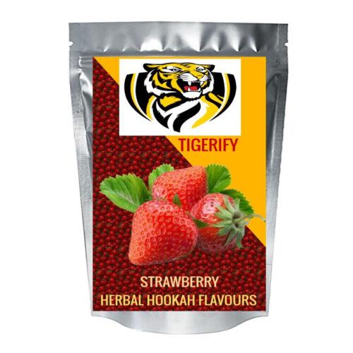 TIGERIFY Premium Quality Shisha Hookah Herbal STRAWBERRY MASTI Flavour 50grams 1