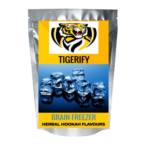 TIGERIFY Premium Quality Shisha Hookah Herbal BRAIN FREEZER Flavour 50grams 1