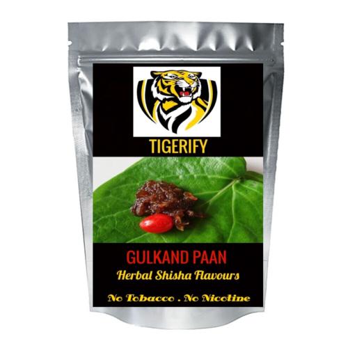 TIGERIFY Premium Quality Shisha Hookah Herbal GULKAND PAAN Flavour 50grams 1