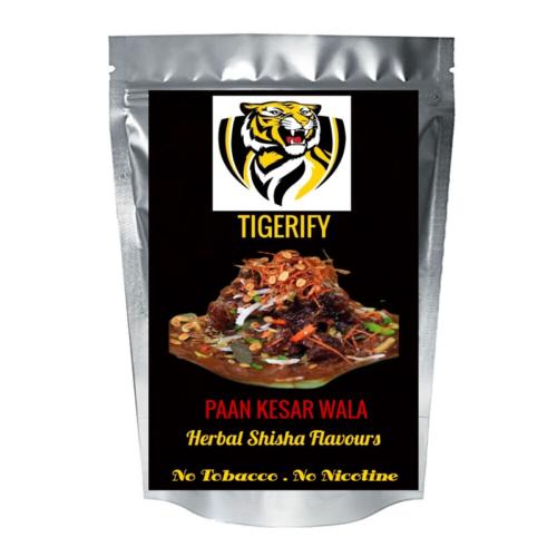 TIGERIFY Premium Quality Shisha Hookah Herbal PAAN KESAR WALA Flavour 50grams 1