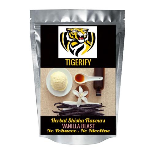 TIGERIFY Premium Quality Shisha Hookah Herbal VANILLA BLAST Flavour 50grams 1