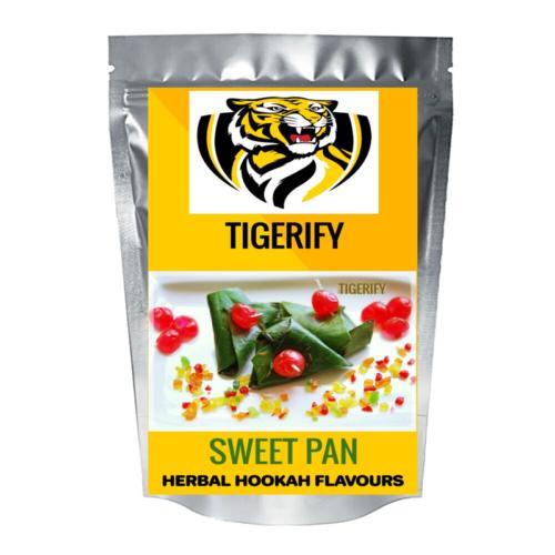 TIGERIFY Premium Quality Shisha Hookah Herbal SWEET PAAN Flavour 50grams 1