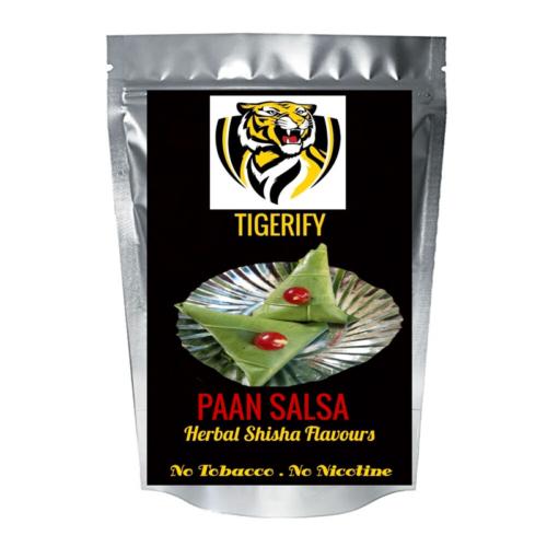 TIGERIFY Premium Quality Shisha Hookah Herbal PAN SALSA Flavour 50grams 1