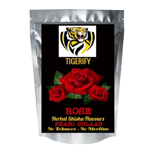 TIGERIFY Premium Quality Shisha Hookah Herbal ROSE / GULAAB Flavour 50grams 1