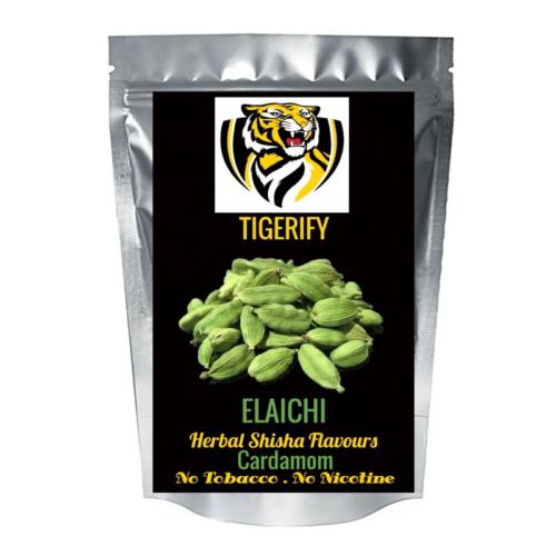 TIGERIFY Premium Quality Shisha Hookah Herbal ELAICHI Flavour 50grams 1