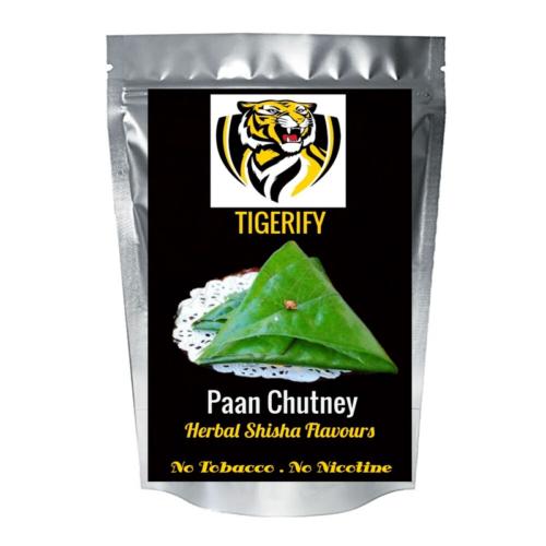 TIGERIFY Premium Quality Shisha Hookah Herbal PAAN CHUTNEY Flavour 50grams 1