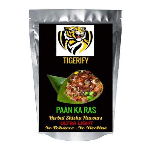 TIGERIFY Ultra Light Shisha Hookah Herbal PAAN KA RAS / PAN RAS Flavour 50grams 1