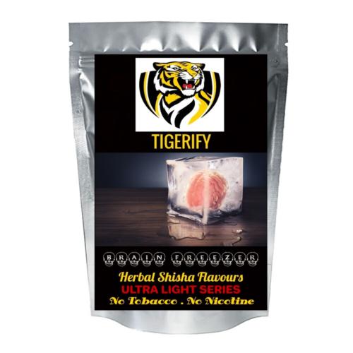 TIGERIFY Ultra Light Shisha Hookah Herbal BRAIN FREEZER / MIND FREEZER Flavour 50grams 1