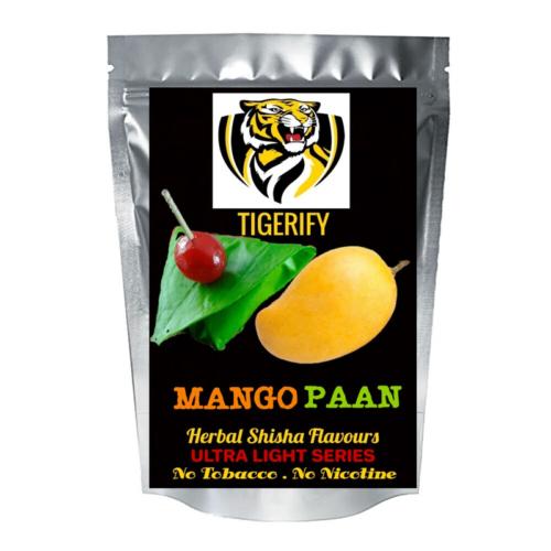 TIGERIFY Ultra Light Shisha Hookah Herbal MANGO & PAAN RAS Flavour 50grams 1