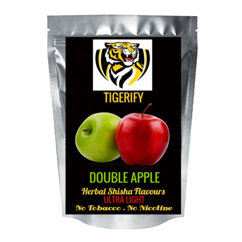 TIGERIFY Ultra Light Shisha Hookah Herbal DOUBLE APPLE Flavour 50grams 1